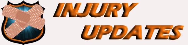 Injury Updates Banner